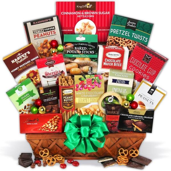 Christmas Gift Basket Deluxe