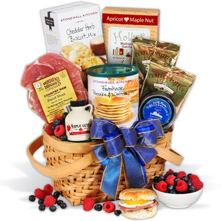 Christmas Morning Breakfast Gift Basket