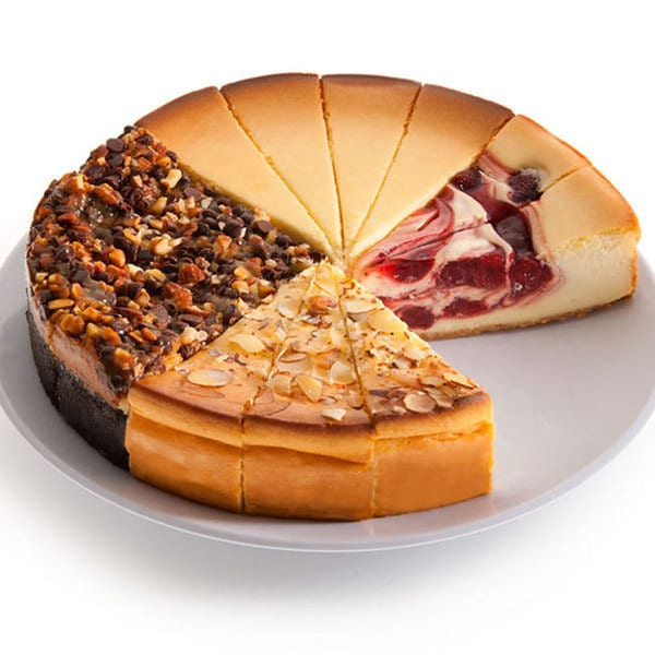 Gourmet 6-inch Cheesecake Sampler