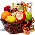 Season's Sampler Fruit Gift Basket