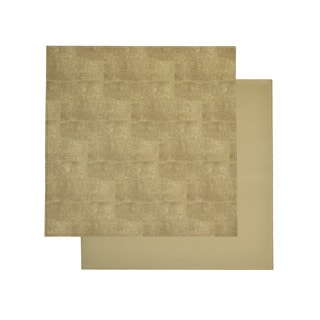 Reversible Faux Leather Snakeskin Tan Placemats (Set of 2)