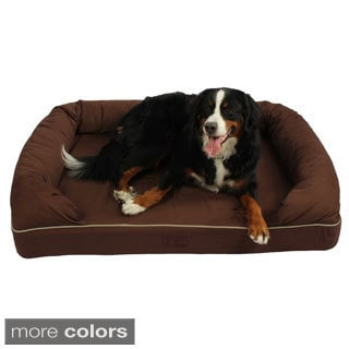 Washable 52-inch Orthopedic 3D Memory Foam X-large Couch Dog Pet Bed