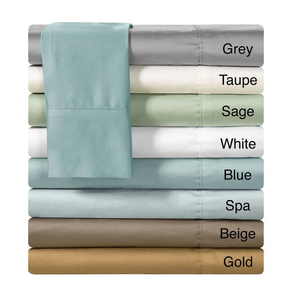 Chic Home 500 Thread Count Cotton 4-piece Sheet Set