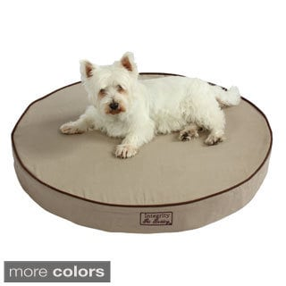 Washable Orthopedic 3D Memory Foam Medium Round Pet Dog Bed