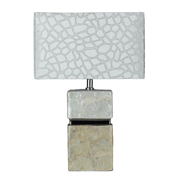 Cortesi Home Shelli Pearl Small Table Lamp