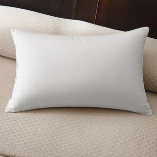 Famous Maker 230 Thread Count Firm White Down Pillow