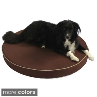 Washable Orthopedic 3D Memory Foam Large Round Pet Dog Bed