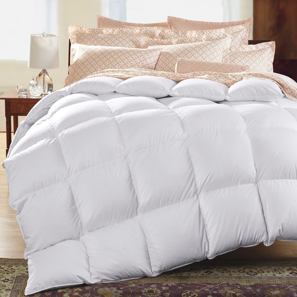 Famous Maker Light Weight White Down Comforter (King)(As Is Item)