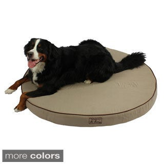 Washable Orthopedic 3D Memory Foam X-large Round Pet Dog Bed