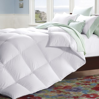 Famous Maker 230 Thread Count Medium Weight White Down Comforter