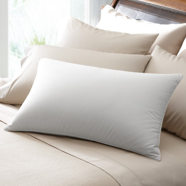 Famous Maker 230 Thread Count Soft White Down Pillow (As Is Item)