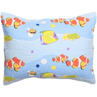Aquarius Cotton Pillow Shams (Set of Two)