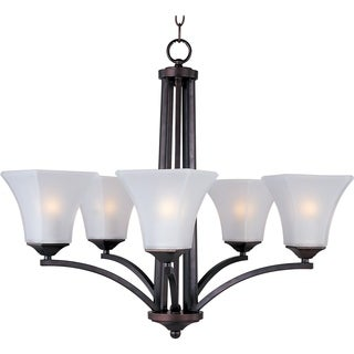 Aurora 5-light Oil Rubbed Bronze Chandelier