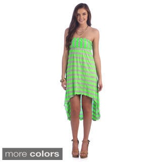 Ingear Juniors High-low Strapless Dress