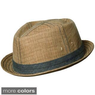 Stetson 'Trilby' Linen Bucket Hat