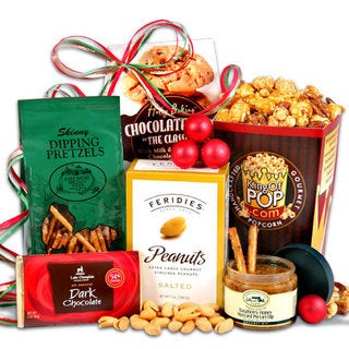 Christmas 'Gift Stack' Snack Set