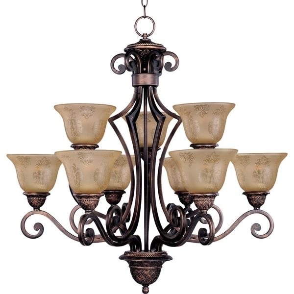Maxim Symphony Nine Light Chandelier Free Shipping Today