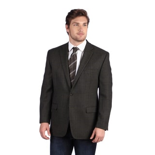 Ralph Lauren Men's Olive/ Grey Wool Blazer