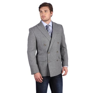 Ralph Lauren Silver Label Men's Light Grey Lambswool Blazer