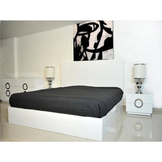 Ultra Modern White Gloss Bed