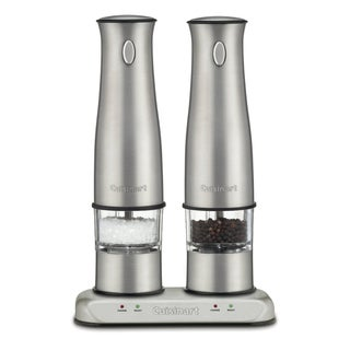 Cuisinart Rechargeable Stainless Salt and Pepper Mills (Refurbished)
