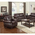 At Home Designs Monterey Natural Brown Leather Chair