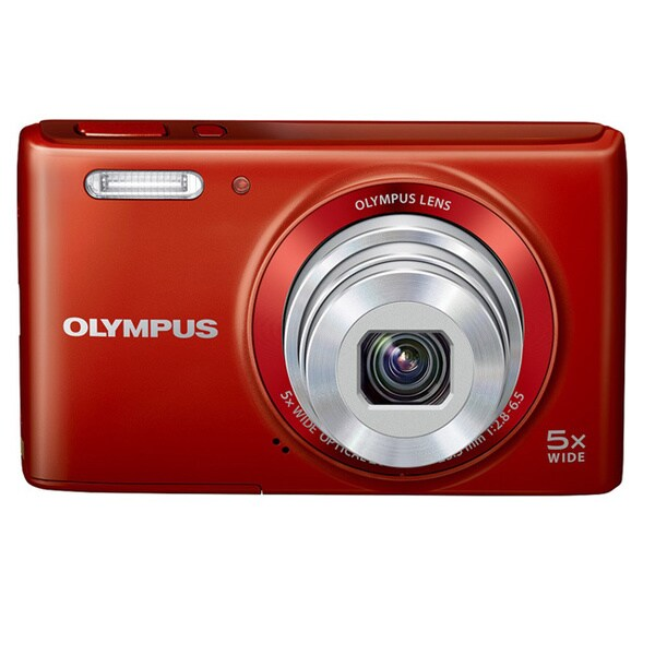 Olympus Stylus VG-180 16 Megapixel Compact Camera - Red