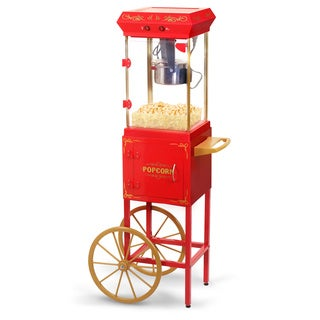 Maxi- Matic EPM-299 Red and Gold Popcorn Trolley