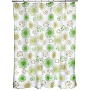 Sublime Green Shower Curtain