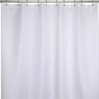 Soho Waffle White Shower Curtain