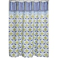 Waverly Sea Scallop Sky Shower Curtain