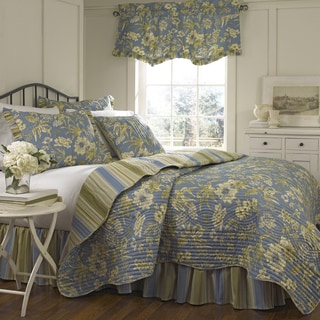 Waverly Augustine 4-piece Quilt Set
