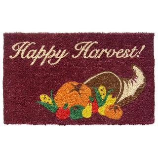 Cornucopia Hand-woven Coconut Fiber Doormat
