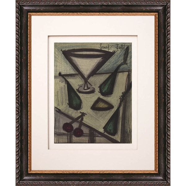 Bernard Buffet 'Still Life with Fruits' Original Lithograph
