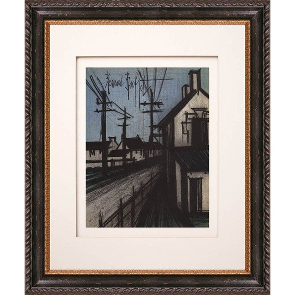 Bernard Buffet 'The Village Road' Original Lithograph