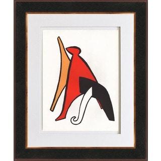 Alexander Calder 'Untitled - DM02' Original Lithograph Framed