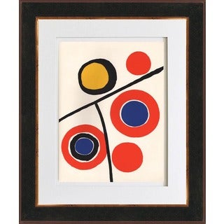 Alexander Calder 'Untitled - DM48' Original Lithograph Framed