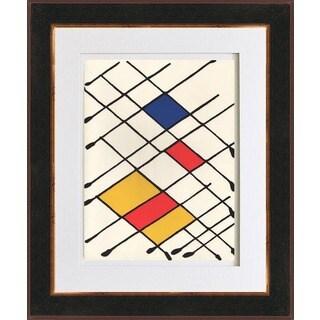 Alexander Calder 'Untitled - DM09' Original Lithograph Framed