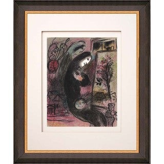 Marc Chagall 'Inspiration' Original Lithograph
