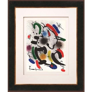 Joan Miro 'Untitled - V1-6' Original Lithograph