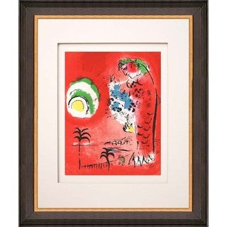 "Marc Chagall ""Les Baies des Anges"" Original Lithograph"