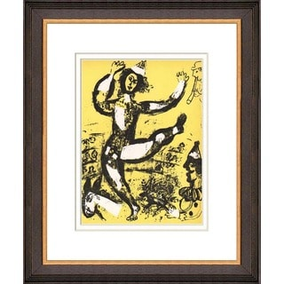 Marc Chagall 'Le cirque' Original Lithograph Framed Art