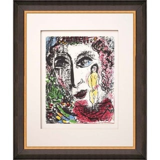 Marc Chagall 'Apparition at the Circus' Original Lithograph