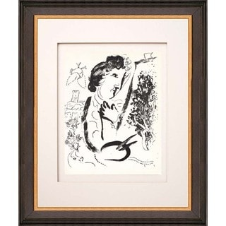 Marc Chagall 'In Front of the Picture' Original Lithograph