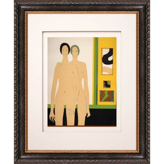 Andre Minaux 'Double' Original Lithograph Framed