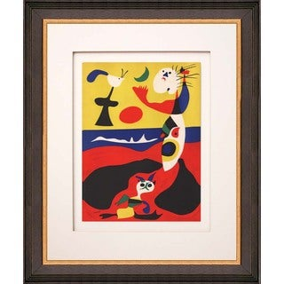 Joan Miro 'Summer' Lithograph Framed