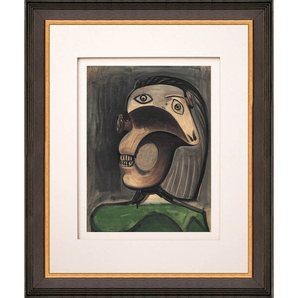 Pablo Picasso 'La Guerre 2' Lithograph Framed