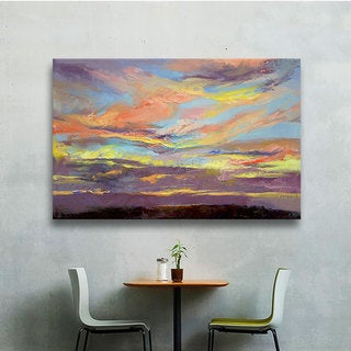 Michael Creese 'Atahualpa Sunset' Gallery-wrapped Art Wall Canvas