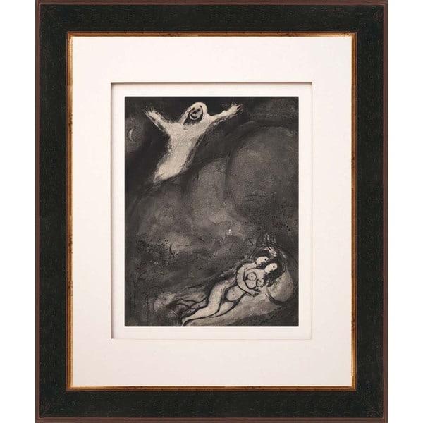 Marc Chagall 'Le revenant' Heliogravure Framed Art
