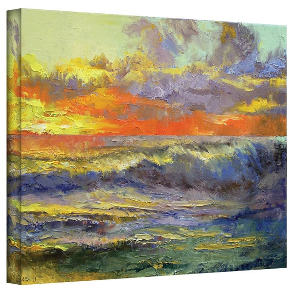 Michael Creese 'California Dreaming' Gallery-Wrapped Canvas Art